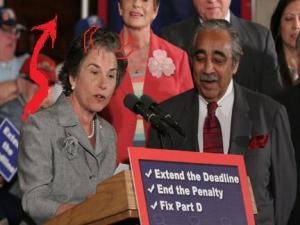 jan schakowsky with horns
