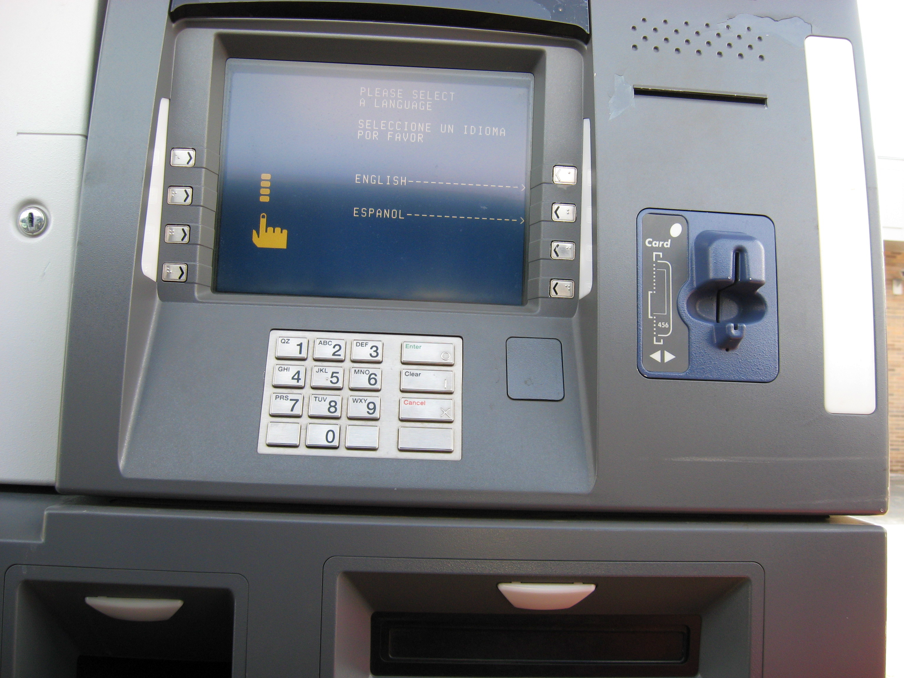 bank machine