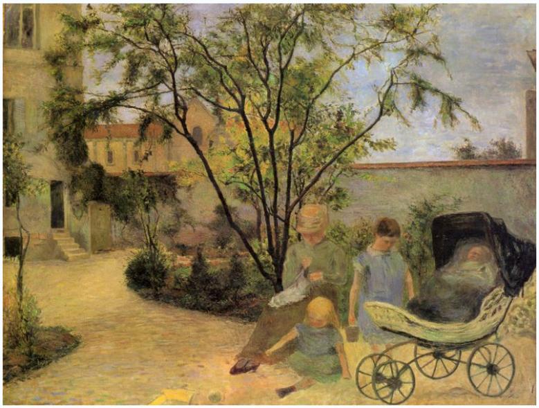 gauguin1-garten-in-der-rue-carcel1
