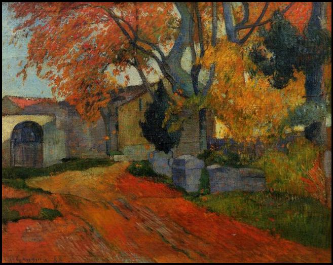gauguin1-lane-at-alchamps-arles1