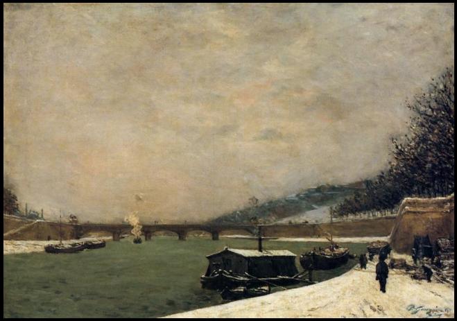 gauguin1-the-seine-pont-dlena-snowing1