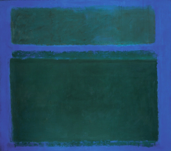 rothko-dark-greens-on-blue-with-blue-band