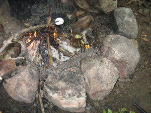 smores and bedouin tea