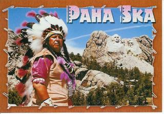 pahaska post card