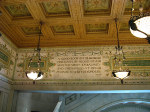 Chicago Cultural Center-ceiling motto
