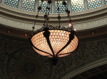 Chicago Cultural Center-Central Tiffany Hanging Lamp