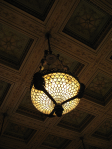 Chicago Cultural Center-Tiffany fixture