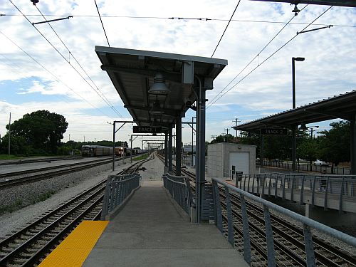 Hegewisch oubound-Track one and two
