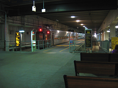 Millenneum Station at Randolph-Track 10 and 11