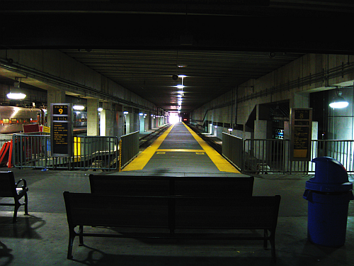 Millineum Station at Randolph-Track 8 and 9