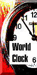 World Clock 75 px widget button