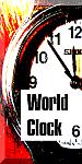 World Clock 75 px widget button