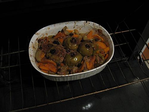 comfort baked apples