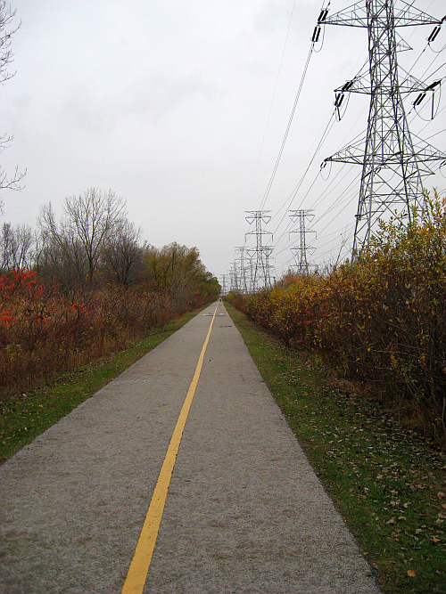 wolf lake bike path